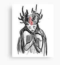 Demon Goddess Canvas Print