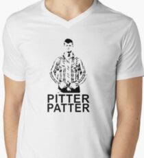 pitter patter letterkenny Men's V-Neck T-Shirt