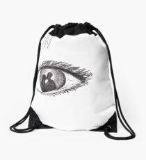 I'm fine Drawstring Bag