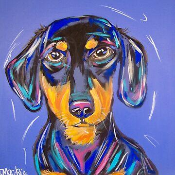 Wild Wiener by TraceyMackieArt