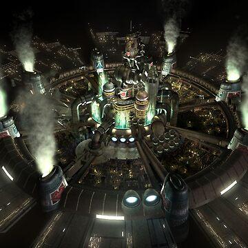 Final Fantasy VII - Central by Gustavinlavin