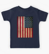 Vintage American Flag Kids Clothes