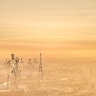 Sunset Haze by Ray Warren