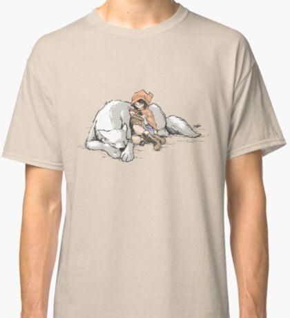 Petite Rouge en le Loup  Classic T-Shirt