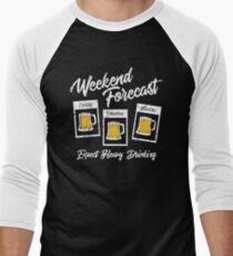Beer Quotes Men's Baseball ¾ T-Shirt