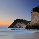 Whiritoa beach, Coromandel by Paul Mercer