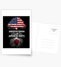 USA Japan Postcards