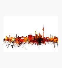 Berlin Deutschland Skyline Fotodruck