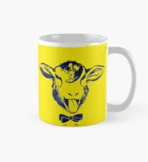 Cheeky sheep with a bow tie Classic Mug