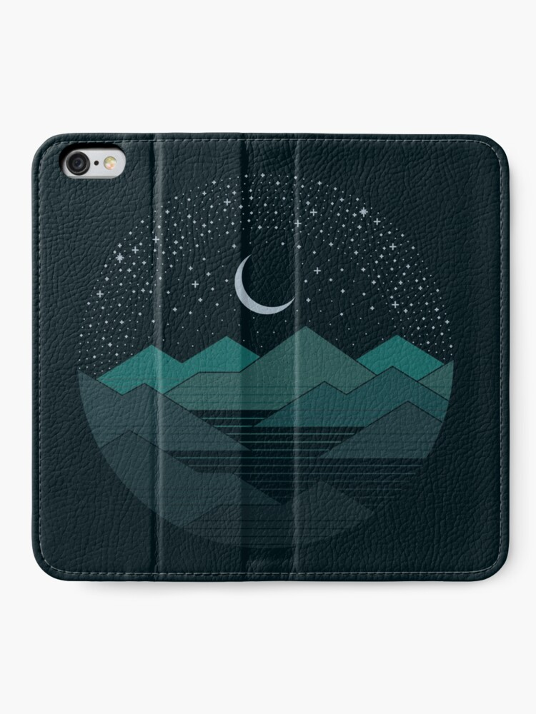 Alternate view of Between The Mountains And The Stars iPhone Wallet