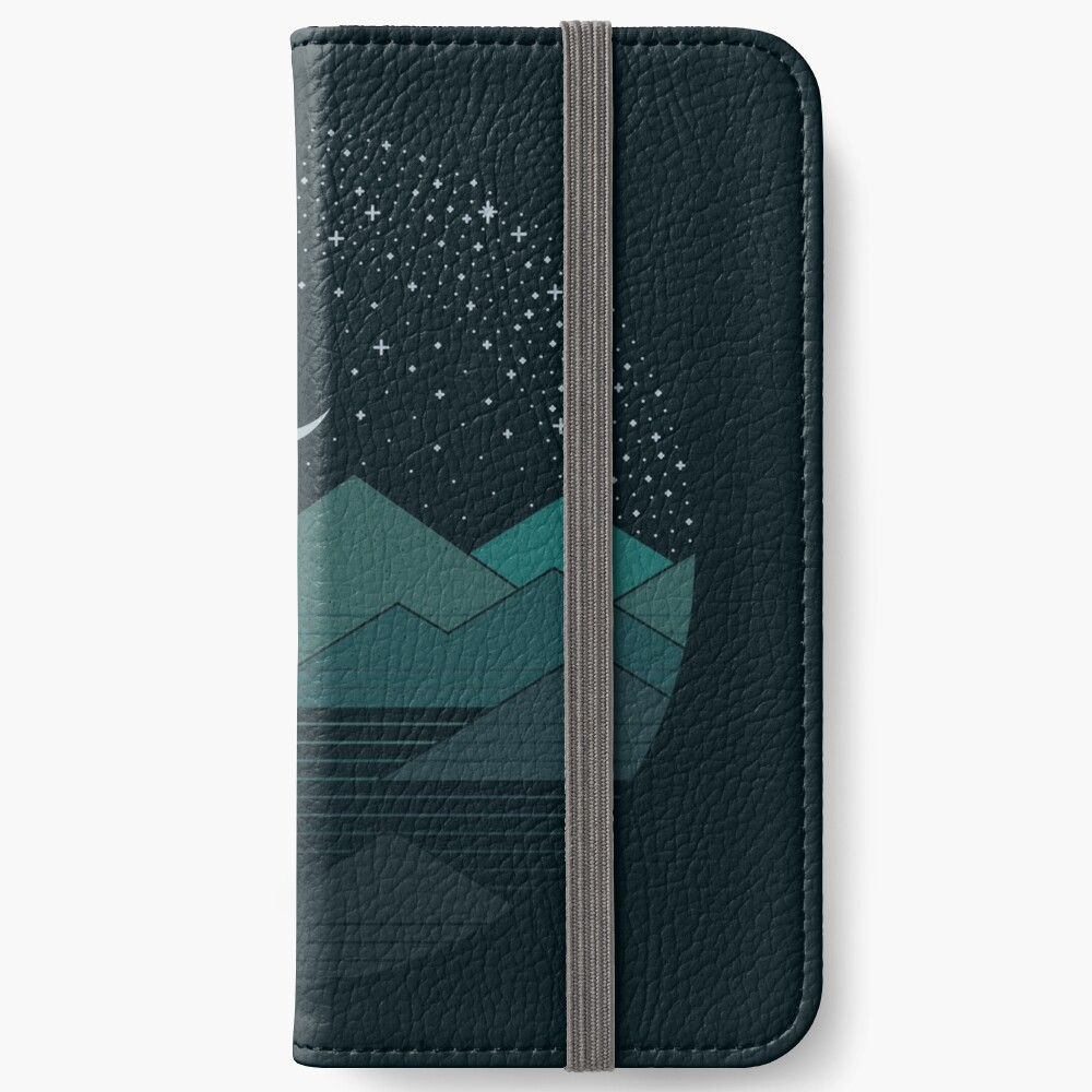 Between The Mountains And The Stars iPhone Wallet