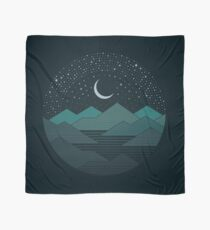Between The Mountains And The Stars Scarf