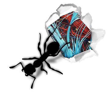 Giant ant inside gift idea by Stahlbeisser71