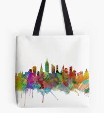 Bolsa de tela Skyline de la ciudad de Nueva York