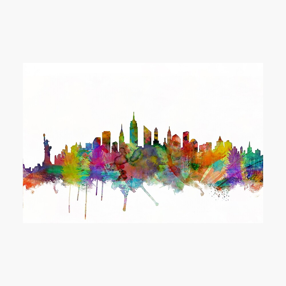 New York City Skyline Fotodruck