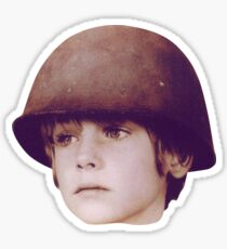 U2 WAR KID Sticker