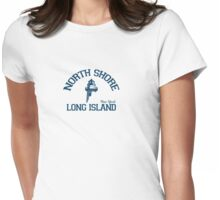 North Shore - Long Island. Womens Fitted T-Shirt