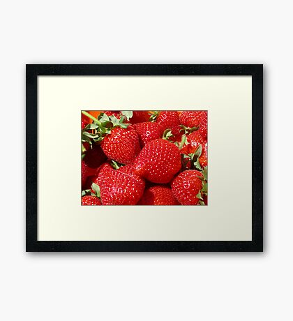 Pick of the crop Framed Print