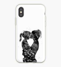 Vinilo o funda para iPhone Madre e hija