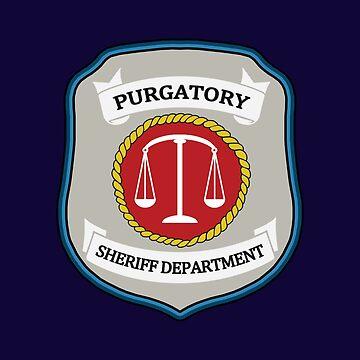 Wynonna Earp - Purgatory Sheriff Department Patch by allmyinhibition