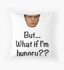 Dwight - But What if I'm Hungry? Floor Pillow