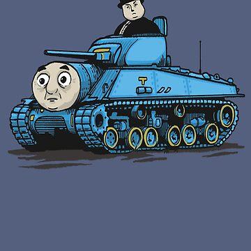 Thomas The Tank by FrederickJay