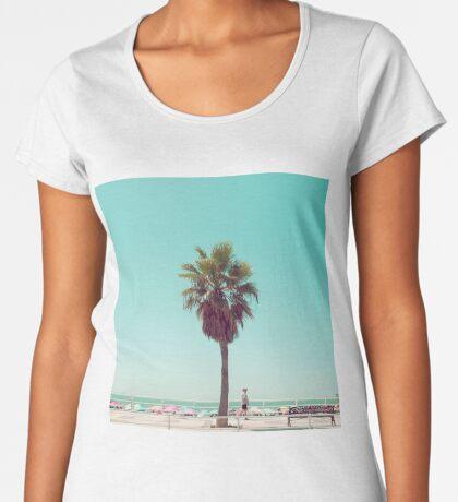 Gerade eine andere Sommer-Postkarte Frauen Premium T-Shirts