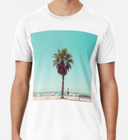 Gerade eine andere Sommer-Postkarte Premium T-Shirt