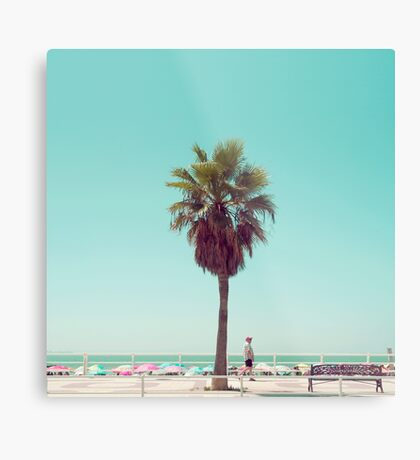 Gerade eine andere Sommer-Postkarte Metallbild