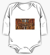 Hustle and Bustle - Grand Central Terminal One Piece - Long Sleeve