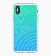 Beach Circles iPhone Case