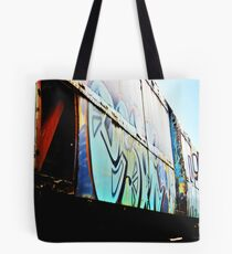 Painted Girl Tote Bag