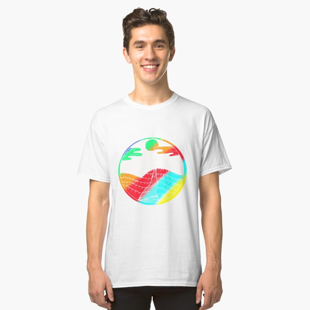 Colorful Art Design Gift Idea Classic T-Shirt Front