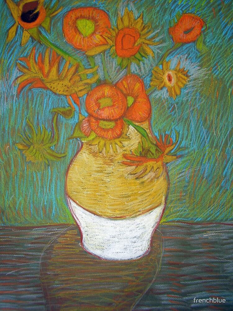 my childs artwork - van gogh (sun flowers) by frenchblue