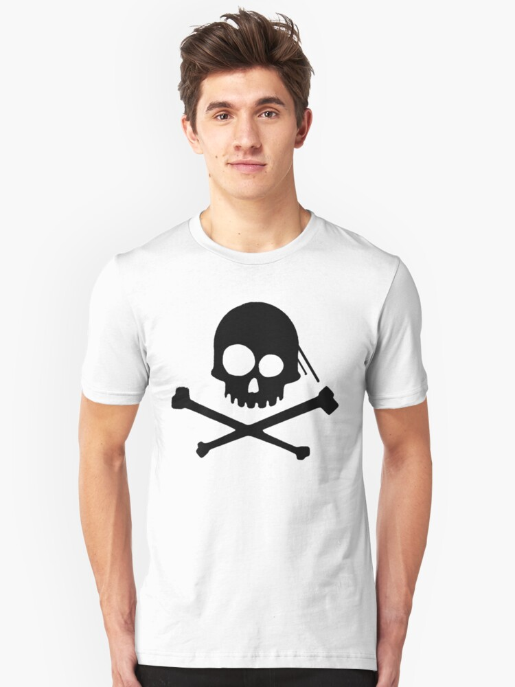 He's a Pirate II. Unisex T-Shirt Front