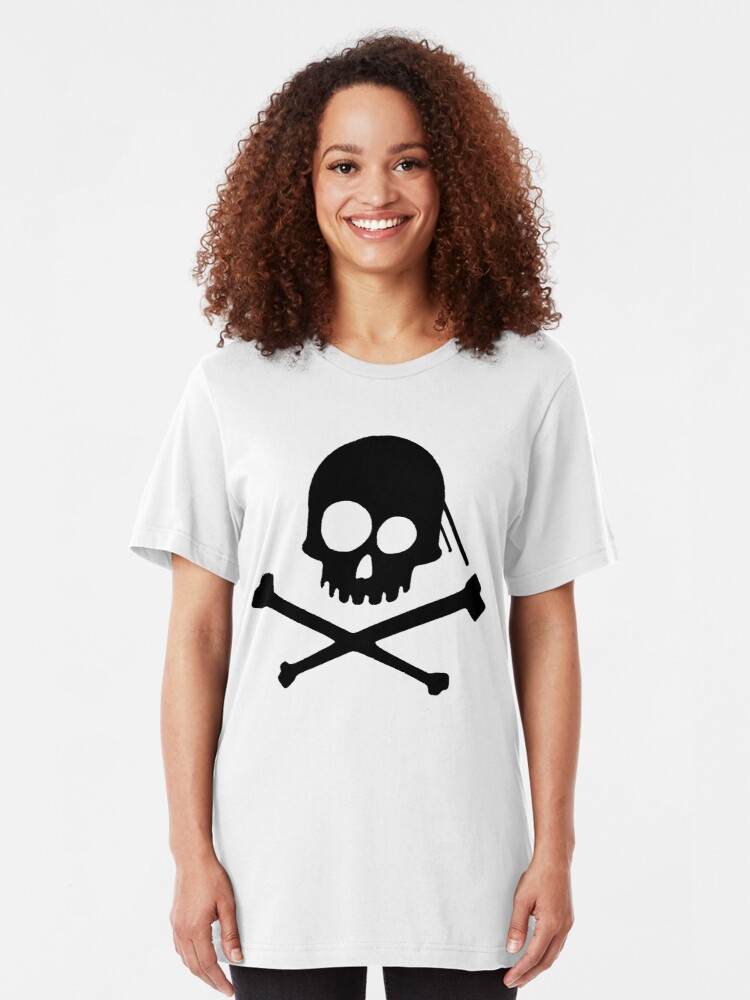 Alternate view of He's a Pirate II. Slim Fit T-Shirt