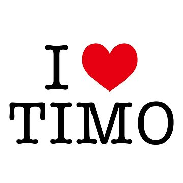 I LOVE TIMOTHEE by Sirayy