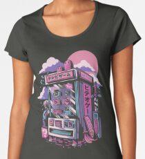 Retro gaming machine Premium Scoop T-Shirt