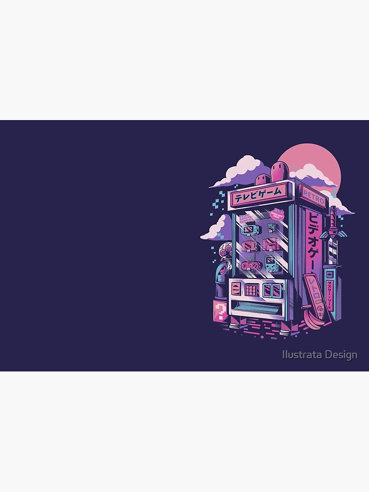 Retro gaming machine by ilustrata
