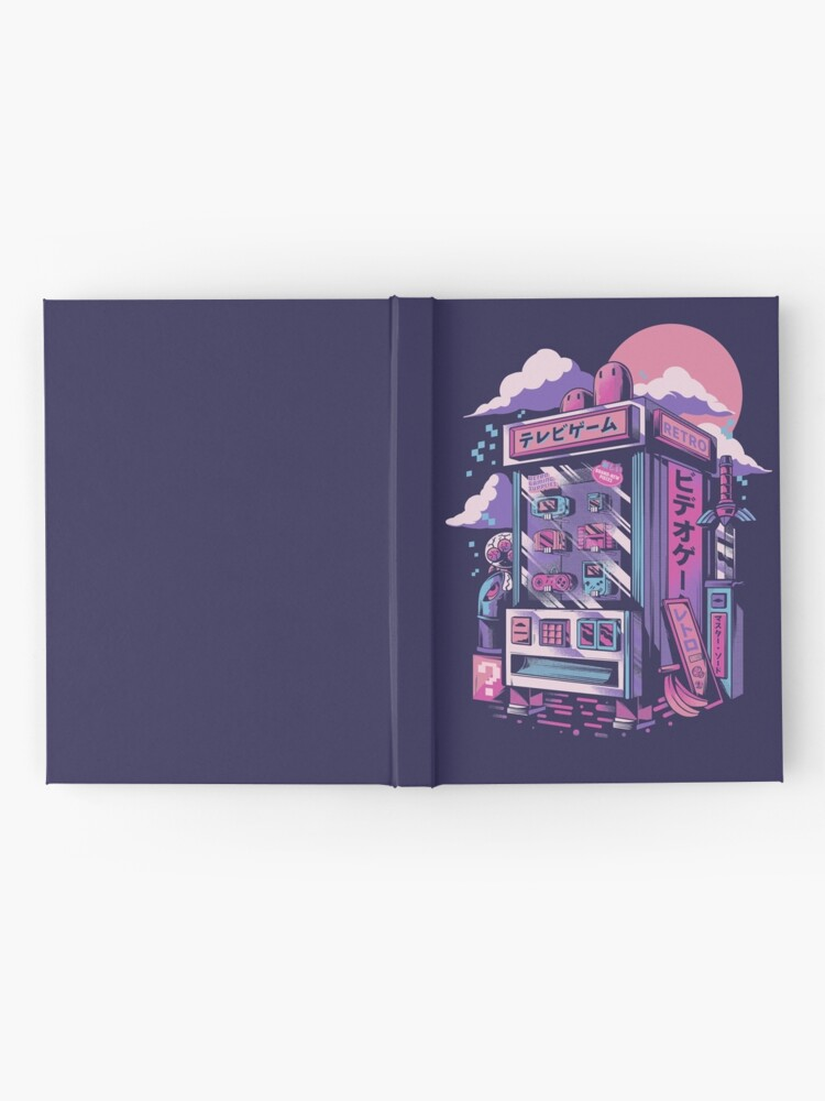 Alternate view of Retro gaming machine Hardcover Journal