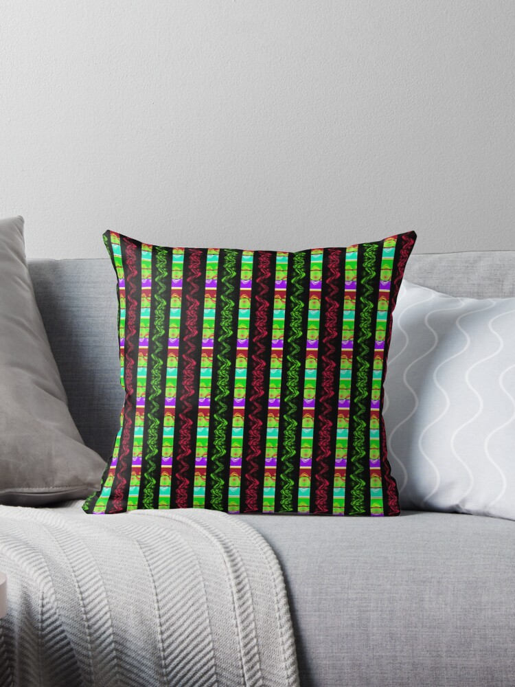 Colorful pattern with stripes by Anteia