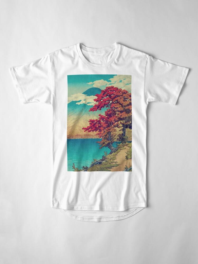Vista alternativa de Camiseta larga El año nuevo en Hisseii