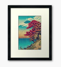 The New Year in Hisseii Framed Print