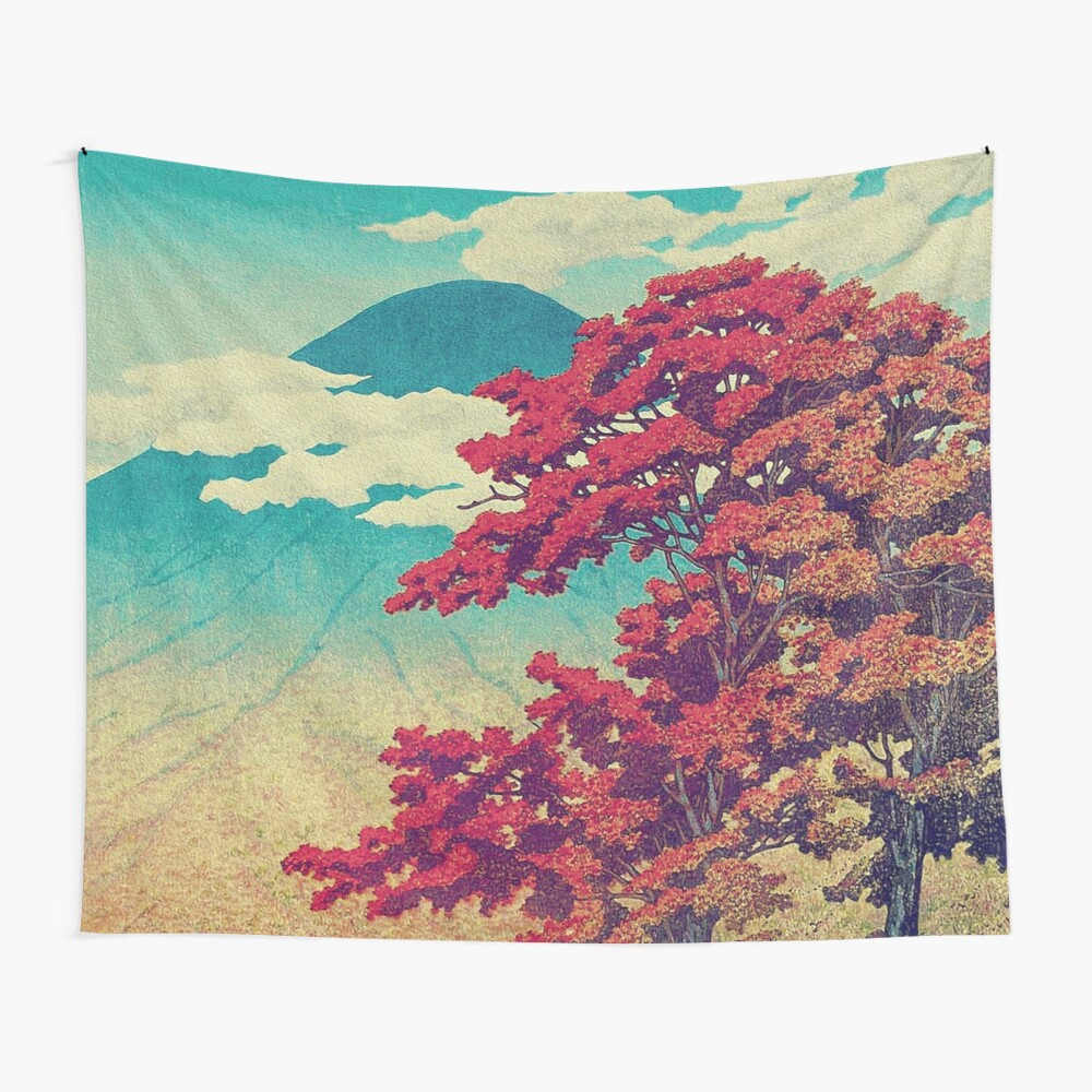 The New Year in Hisseii Wall Tapestry