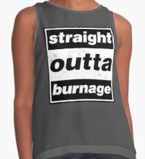 Straight Outta Burnage, Our Kid Contrast Tank
