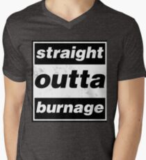 Straight Outta Burnage, Our Kid V-Neck T-Shirt