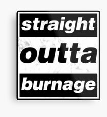 Straight Outta Burnage, Our Kid Metal Print