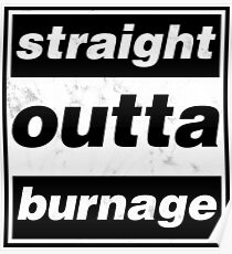 Straight Outta Burnage, Our Kid Poster