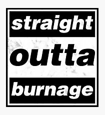 Straight Outta Burnage, Our Kid Photographic Print