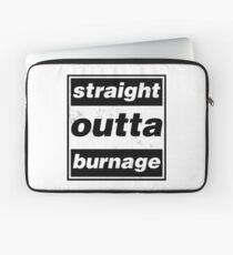 Straight Outta Burnage, Our Kid Laptop Sleeve